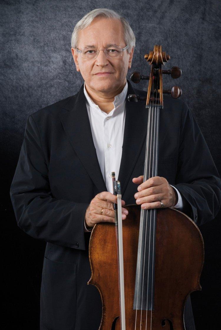 David Geringas (Cello, Conductor) - Short Biography